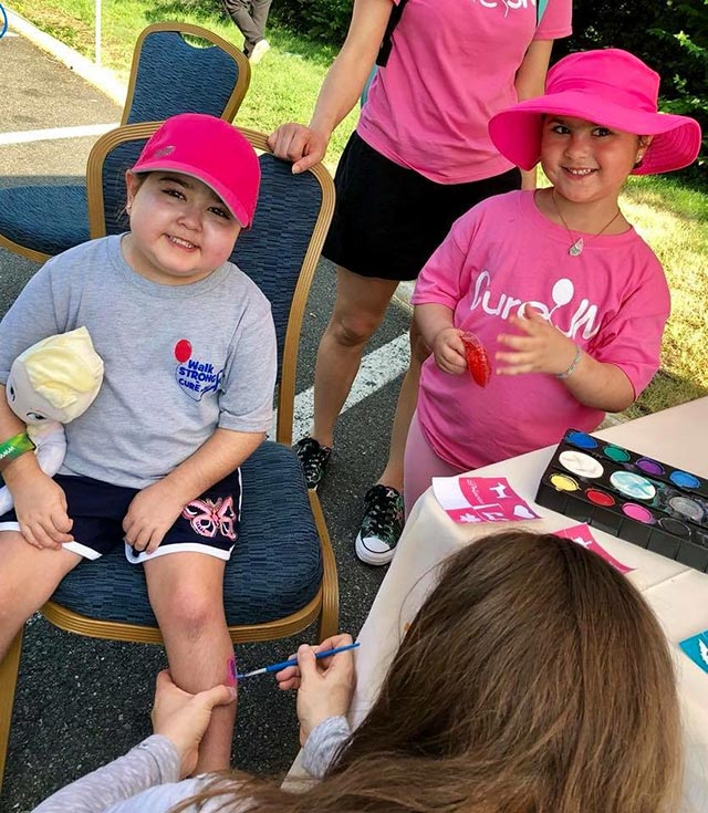 Face Painting Kids at Walk