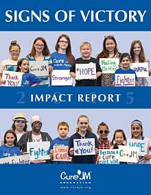 Cure JM Foundation 2015 Impact Report